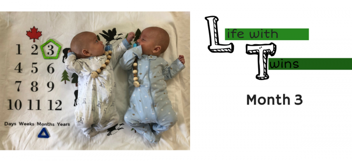 Life with Twins: Month 3