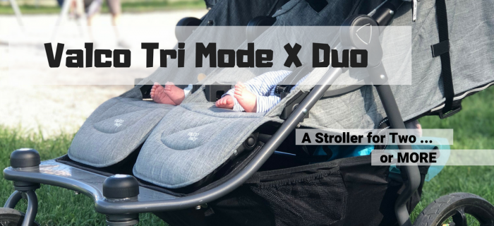 Valco Baby Tri Mode X Duo Stroller Review: Room for two … or more!