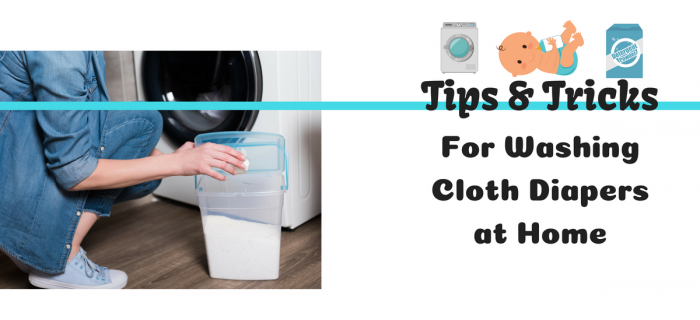 6 Tips and Tricks for Washing Cloth Diapers at Home