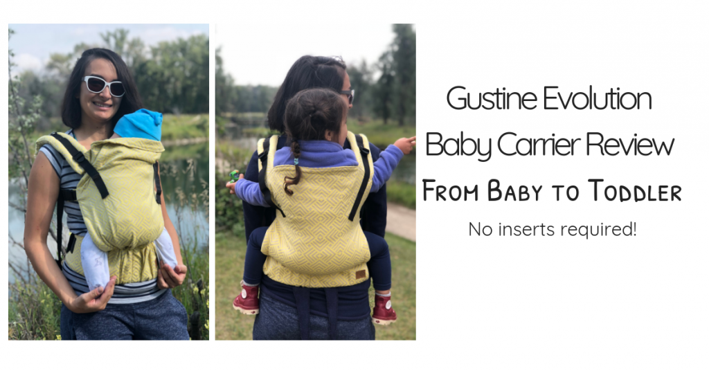 Gustine Evolution Baby Carrier Review