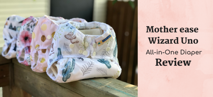 Mother ease Wizard Uno All-in-One Cloth Diaper Review