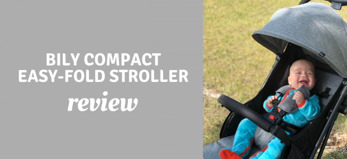Bily Compact Easy-Fold Stroller Review