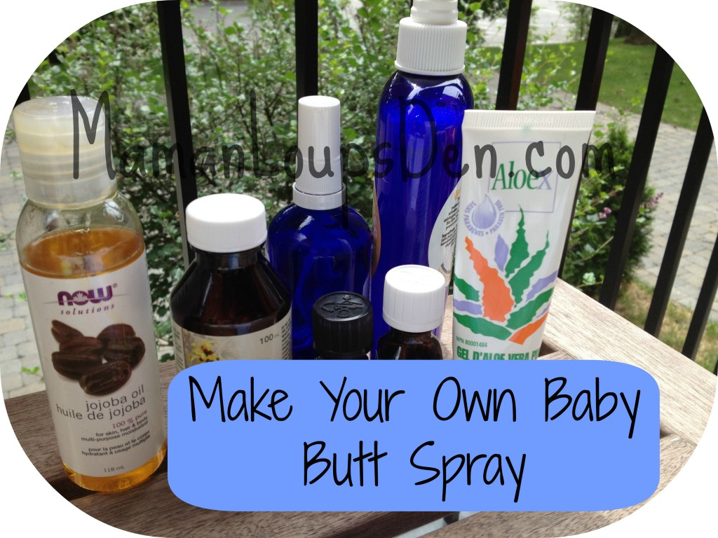 Baby Butt Spray DIY