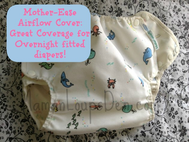 Mother-Ease AirFlow Cover: Great Coverage for Fitted Diapers