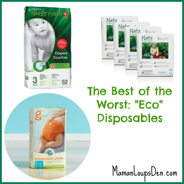 Eco-Disposable Diapers: The Best of the Worst