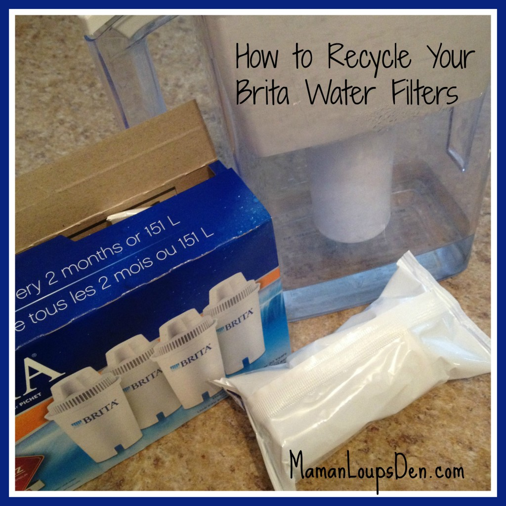 How to recycle Brita water filters
