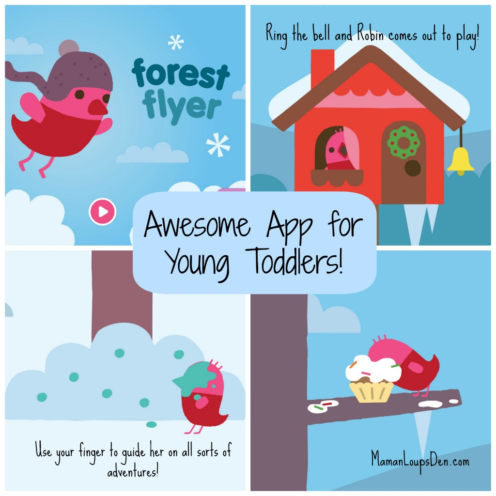 Forest Flyer: My Toddler's Favourite App!