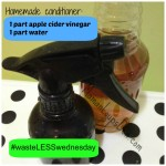 Apple Cider Vinegar Conditioner #wasteLESSwednesday
