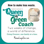 Queen of Green Coaches Module 1 Follow-Up: How we're wasting less!