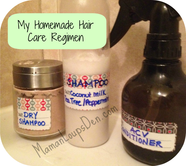 Hy Homemade Hair Care Regimen