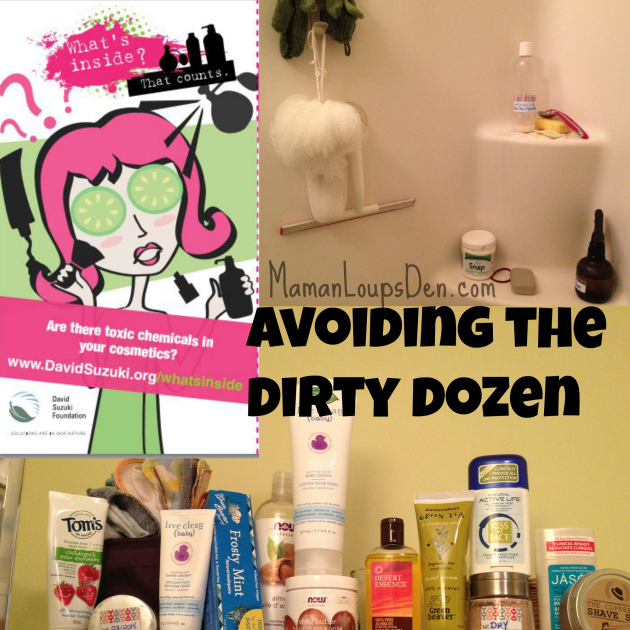 How I avoid the Dirty Dozen in my body care products