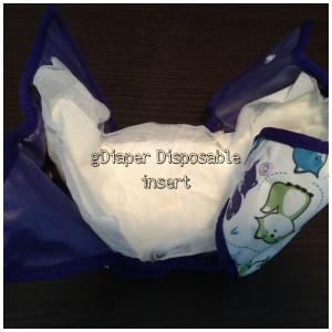 gDiaper disposable insert in Best Bottom