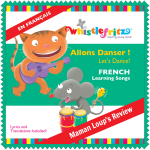 Allons Danser! CD Review: Practice French with Your Kiddies, oui oui!