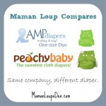 What's the difference between Peachy Baby and AMP One-Size Covers?
