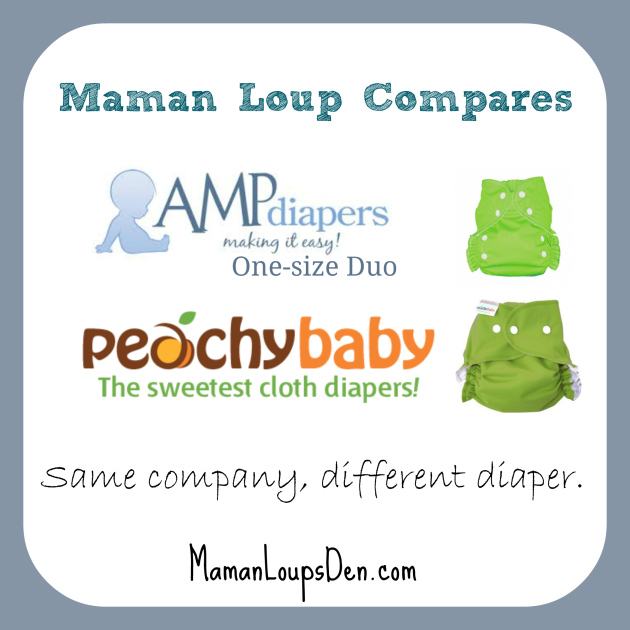 Comparing AMP and Peachy Baby Covers ~ Maman Loup's Den
