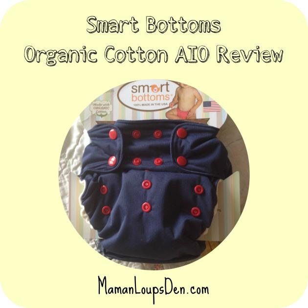 Smart Bottoms AIO Review ~ Maman Loup's Den