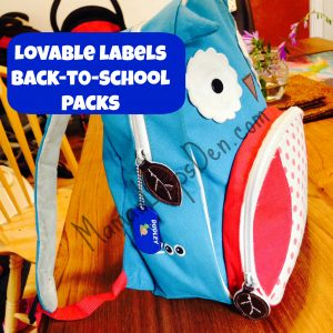 lovable labels back to school packs