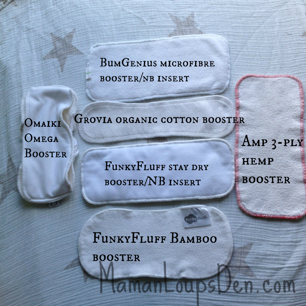 types of boosters in my stash