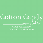 Cotton Candy Eco Cloth Review #GreenYourPeriod