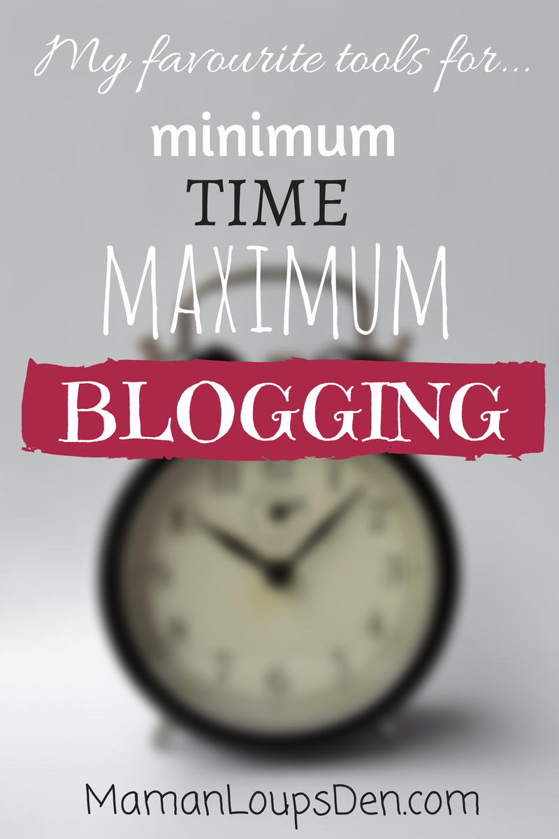 time-saving blogging tools