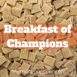 Breakfast of Champions: Why Eating Cereal at the Crack of Dawn Made Me So Happy