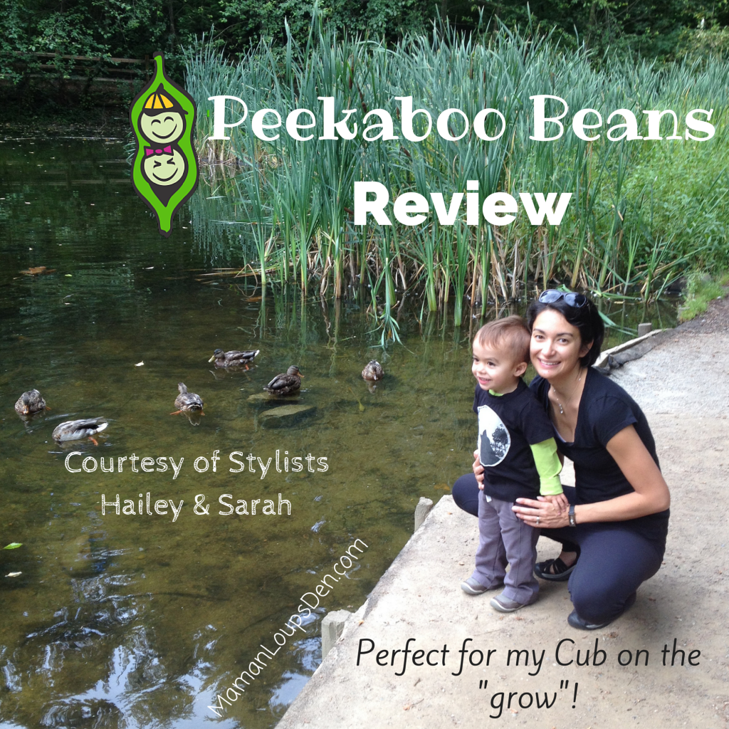Peekaboo Beans Review courtesy of Hailey & Sarah
