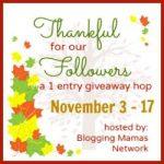 #Thankful4Followers Giveaway Hop: Win Custom Carrier Drool Pads & Bibdana!