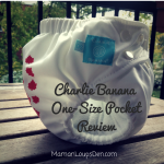 Charlie Banana One-Size Pocket Diaper Review
