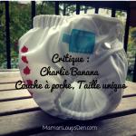 Critique: Couche à poche taille unique Charlie Banana