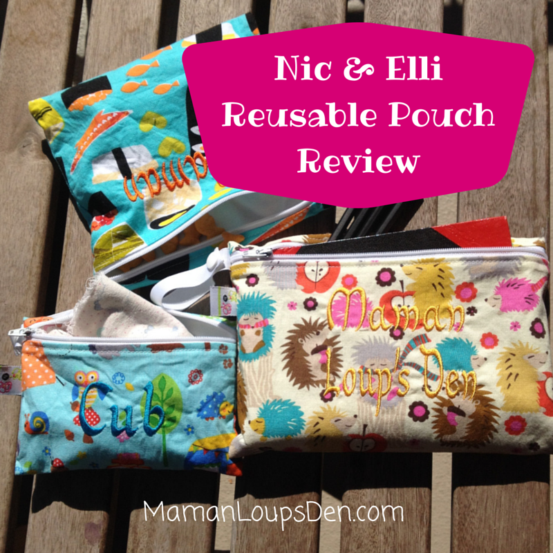 Nic & Elli Reusable Pouch Review