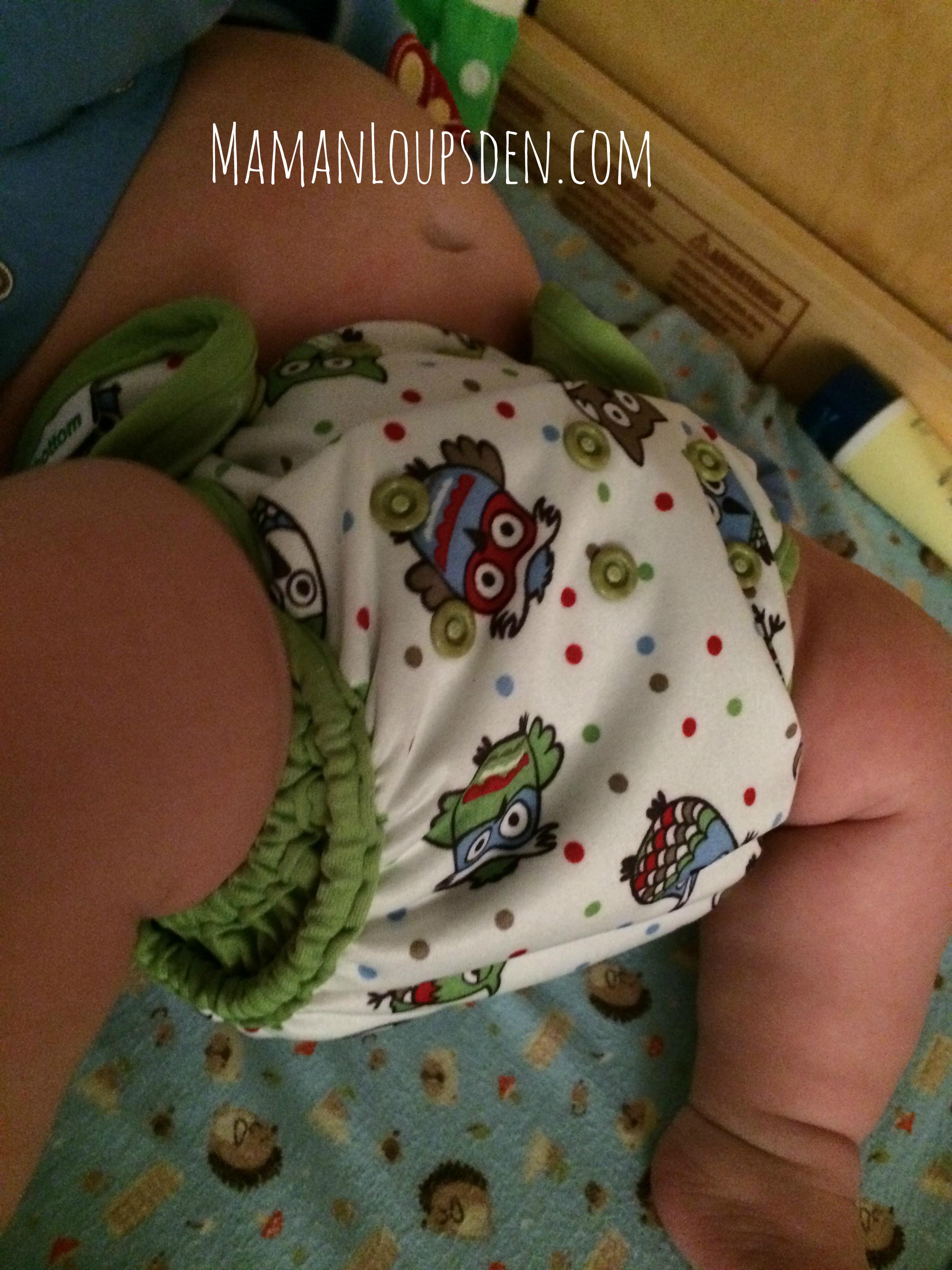 Overnight Diaper on Newbie