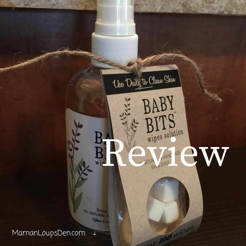 Baby Bits Wipe Solution Review