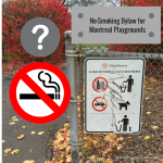 Call for a Ban on Smoking Near Montreal's Playgrounds