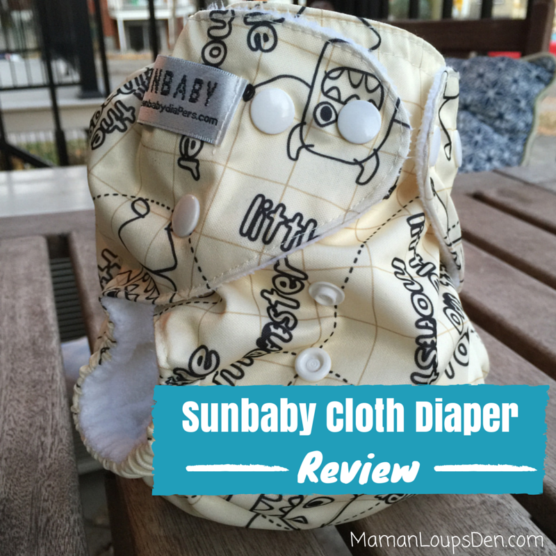 Sunbaby Cloth Diaper Review