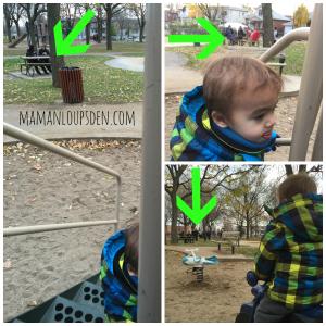 smoking near the playground