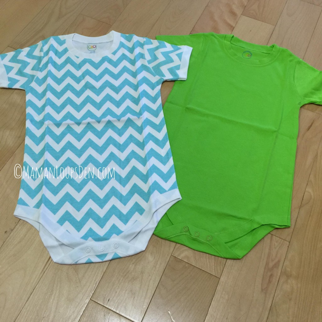 Cotton Baby Onesies: Sizes 2T to 6T!