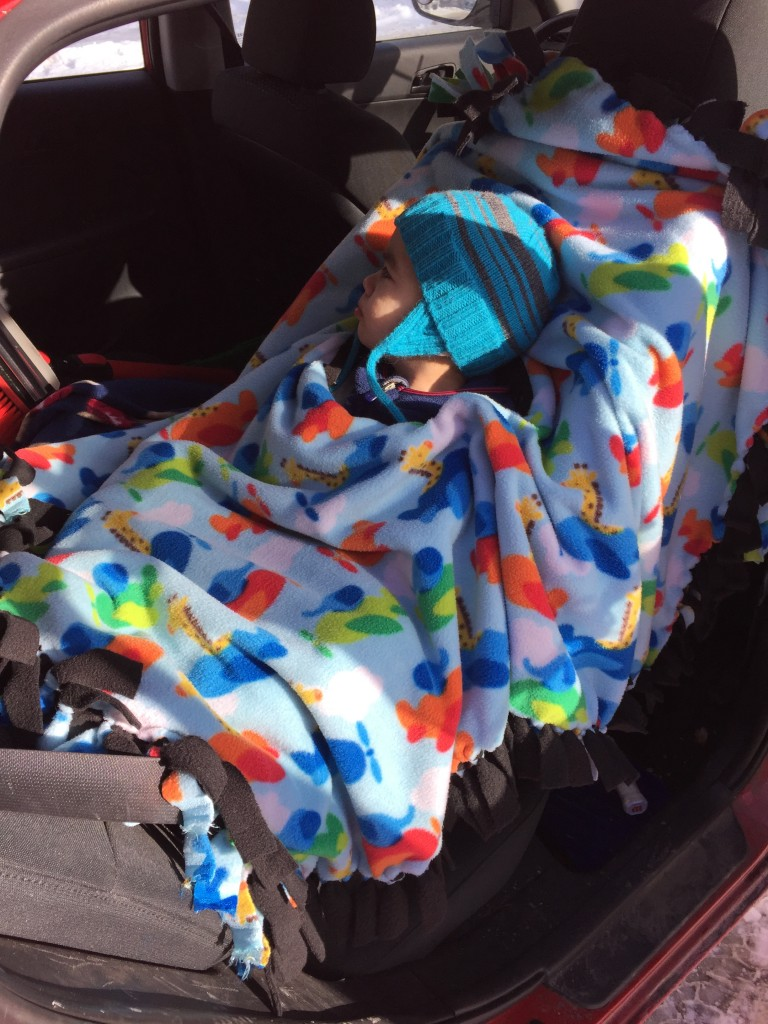 Canadian Car Seat Poncho