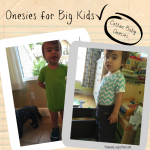 Cotton Baby Onesies: Home to 3T onesies and more!