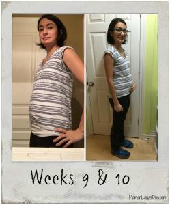 Pregnancy Weeks 9 and 10