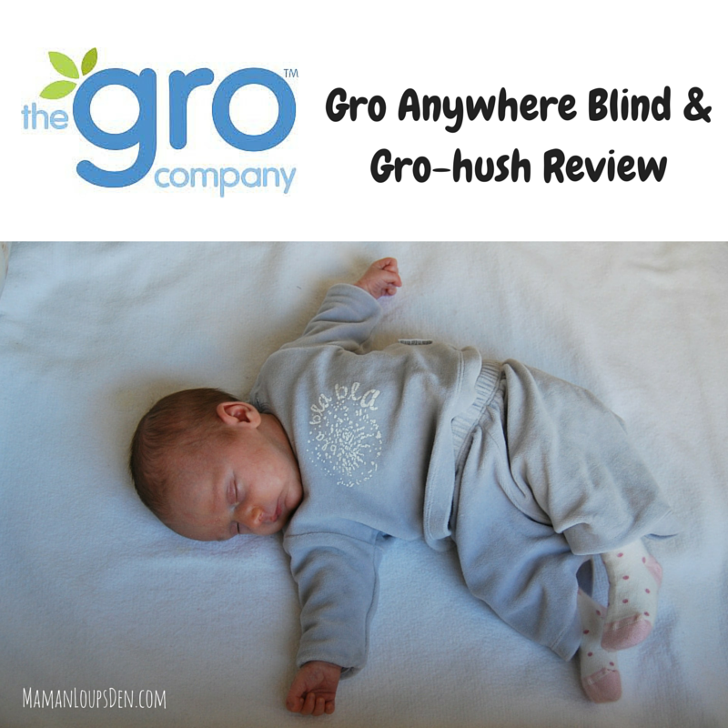 Gro Anywhere Blind & Gro-hush Review