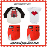 #ClothDiaperCombos: Funky Fluff's Love Bug