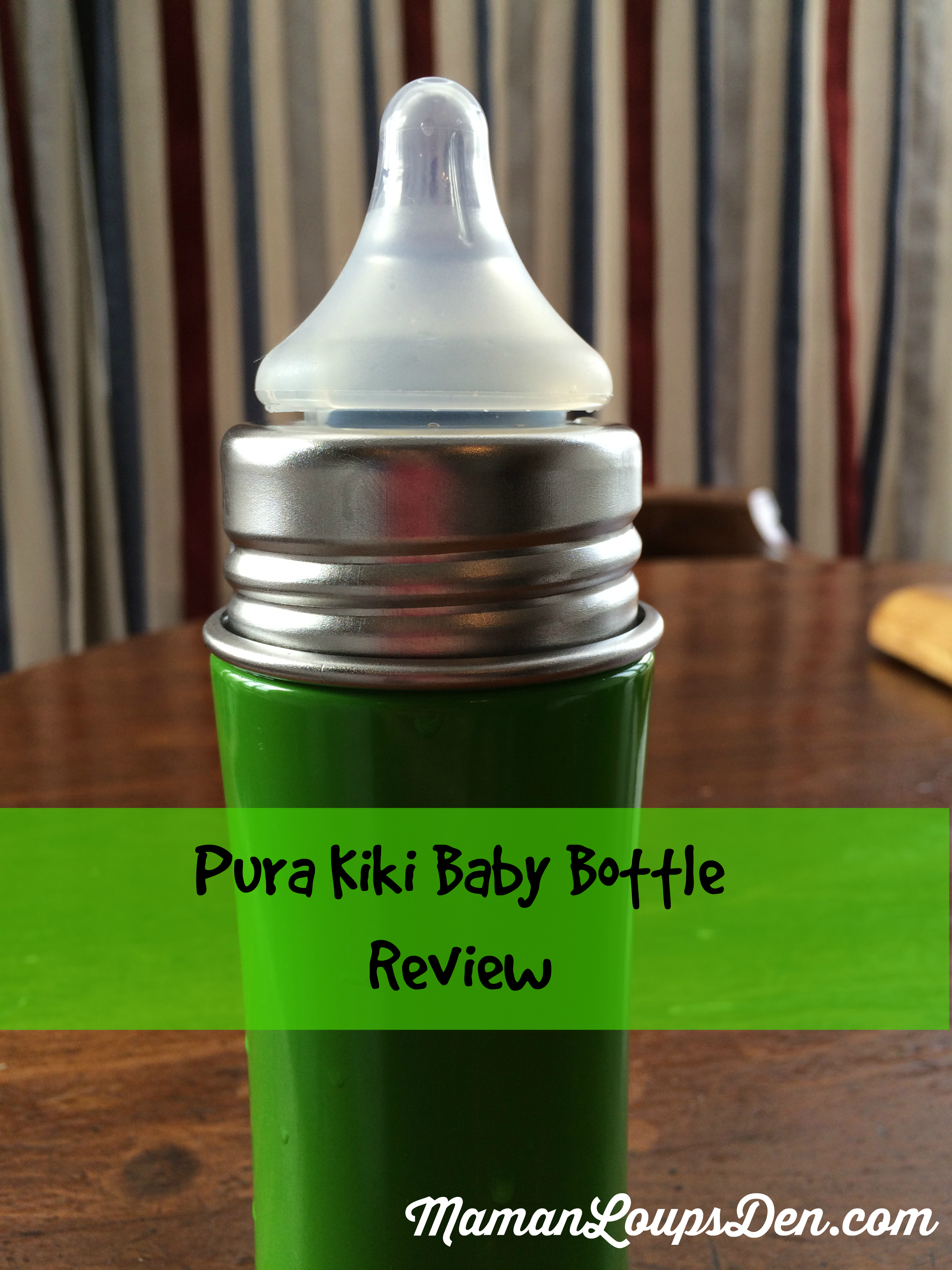 Pura Kiki Stainless Steel Baby Bottle Review