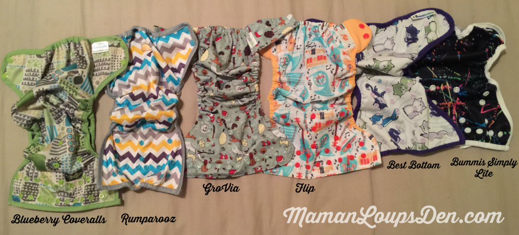 Cloth Diaper Cover Rise Comparison