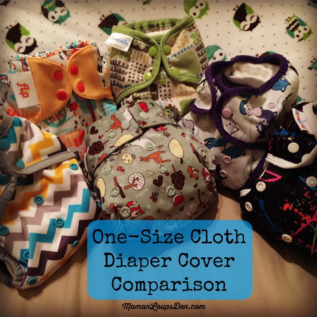 One-size cloth diaper cover comparison