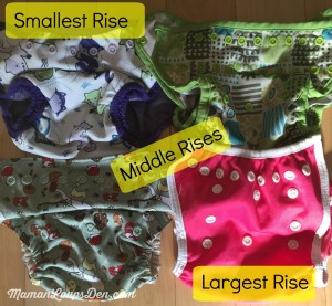 Rises adjustment: Cloth Diaper Cover Comparison