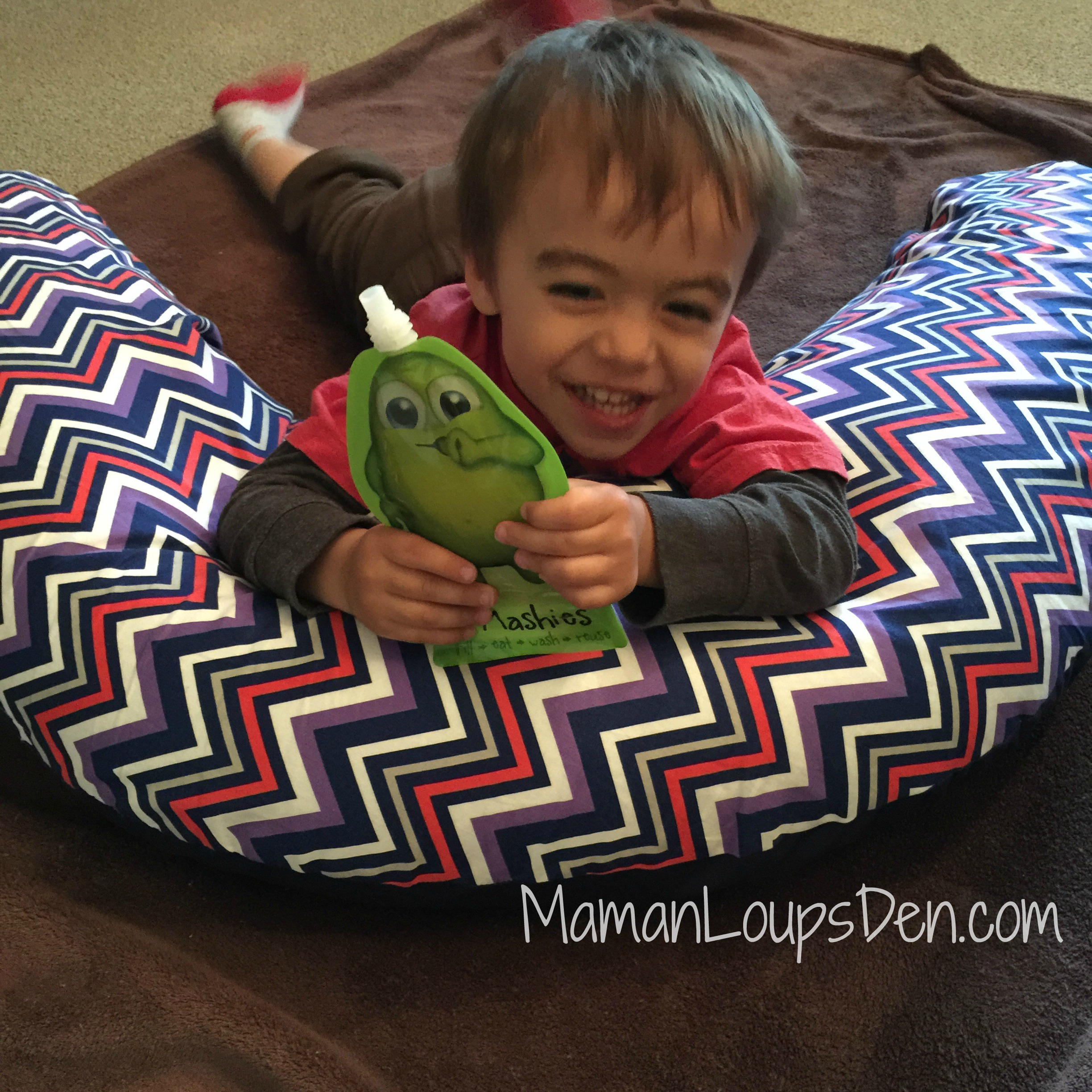 Coussins Etc. maternity pillow for play time