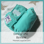 GroVia O.N.E. Cloth Diaper Review