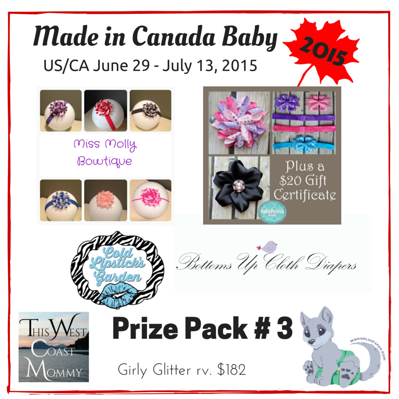 Made in Canada Baby Prize Pack 3