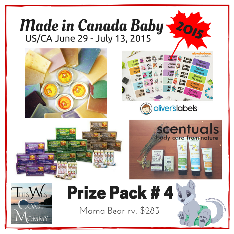 Made in Canada Baby Prize Pack 4
