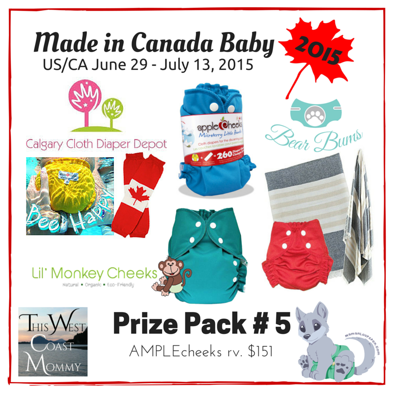 Made in Canada Baby Prize Pack 5